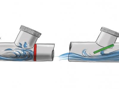 schéma de fonctionnement d'un clapet anti retour