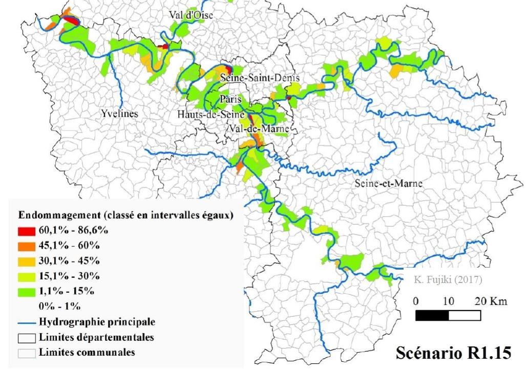 carte zone inondable yvelines Les impacts sociaux d'une inondation majeure en Ile de France