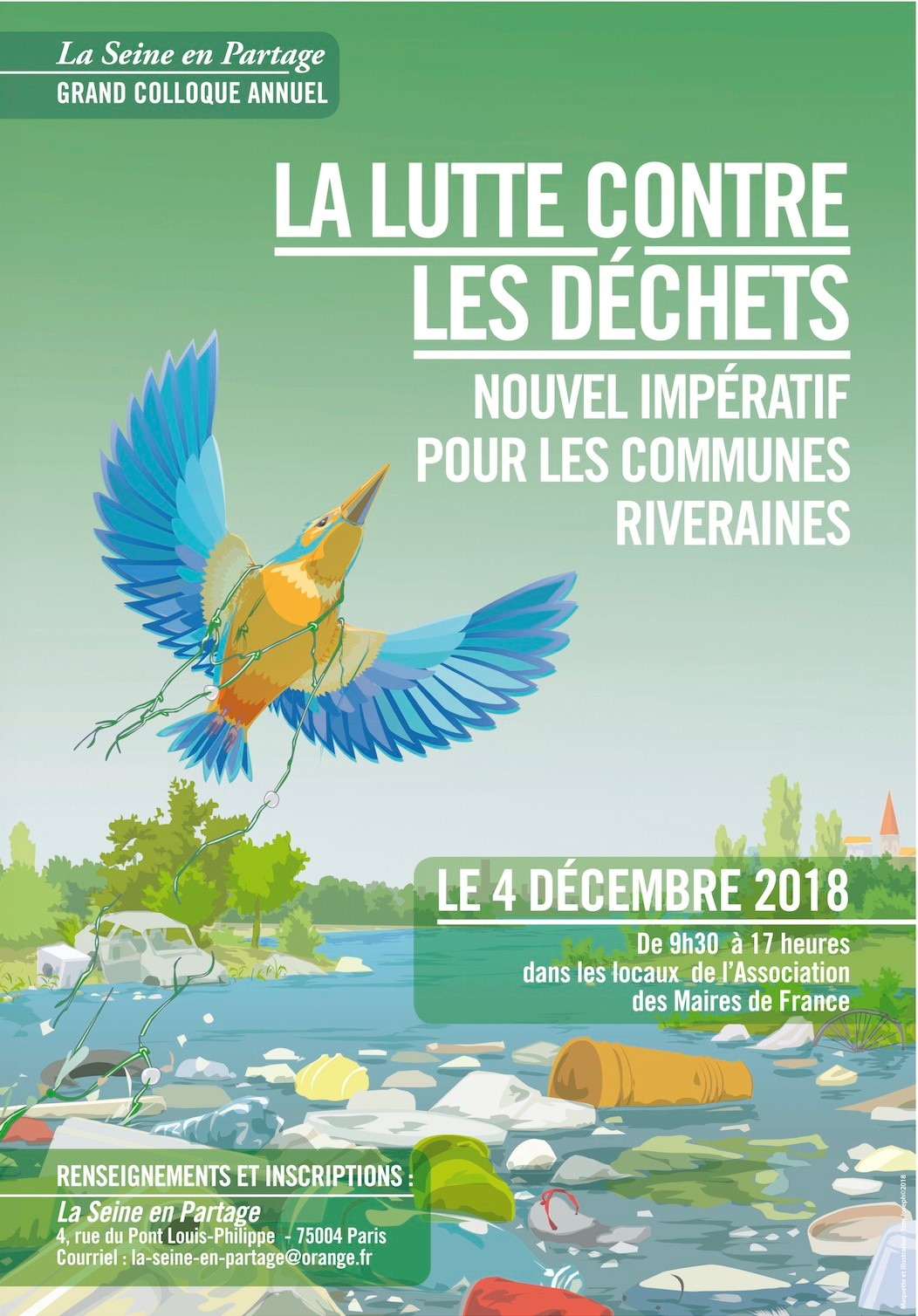 Colloque 2018 de Seine en Partage et ses Affluents