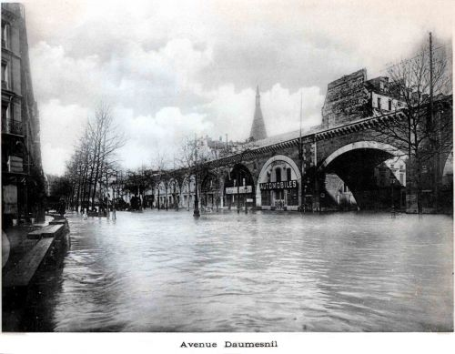 Crue de 1910 à Paris - Copyright : Archives de Paris