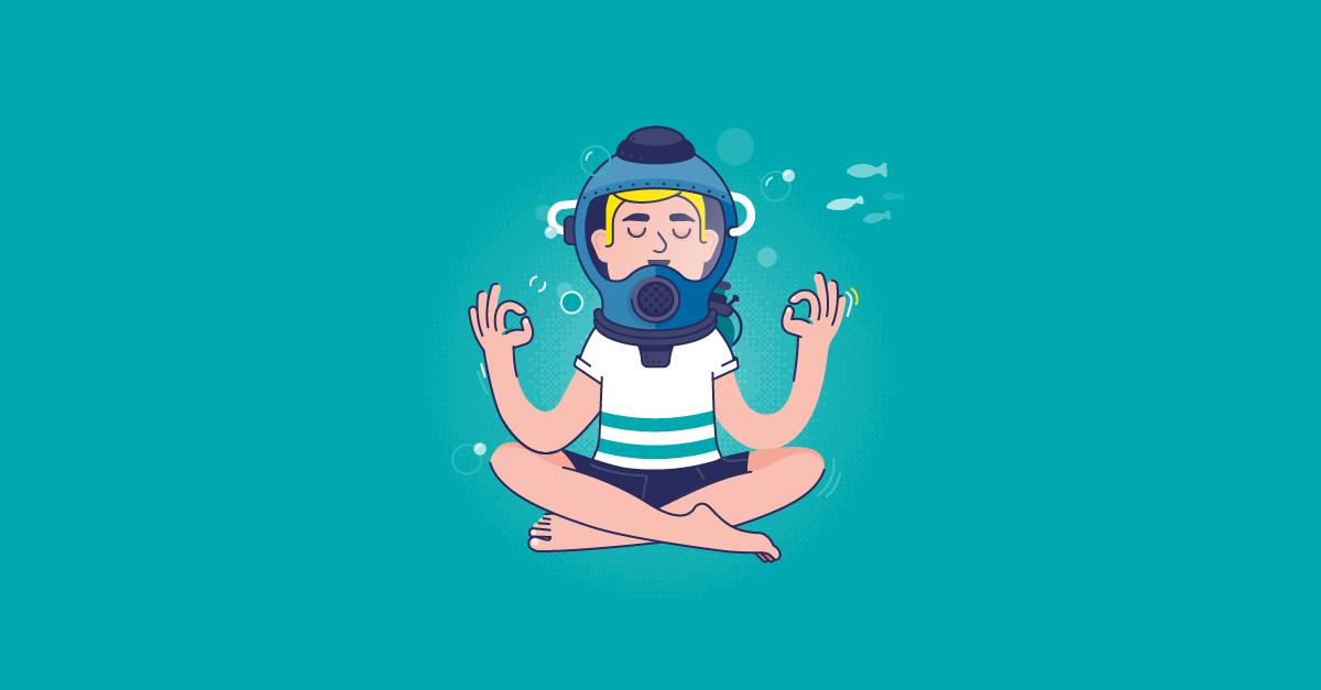 Comment rester zen quand tout prend l'eau ?
