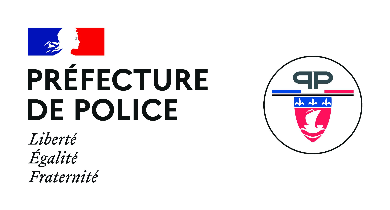 Logo préfecture de police - PP 2020