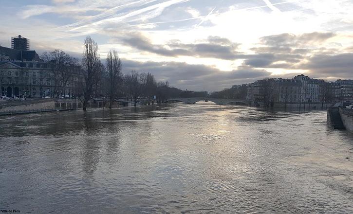 Crue de janvier-février 2018 à Paris